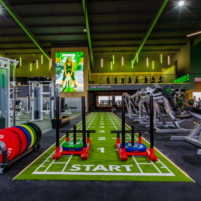 jd gym thornton cleveleys prolight design