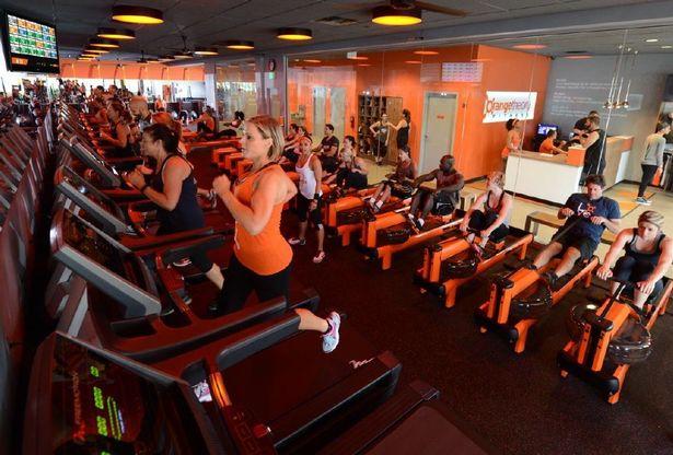 orange theory gym derby prolight design
